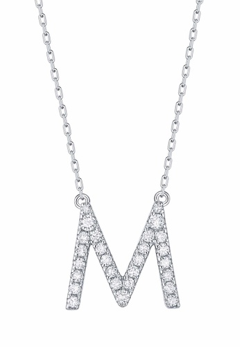 Smiling Rocks white 10K White Gold 0.29ct Lab Grown Diamond Mytype Necklace 3AD76ACE0174D7GS_1