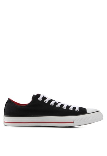 Converse black and multi As Double Tongue Ox Shoes CO302SH23XYQID_1