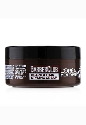 L'Oréal L'ORÉAL - Men Expert Barber Club Beard & Hair Styling Cream 75ml/2.5oz 1E723BEA46B97EGS_1