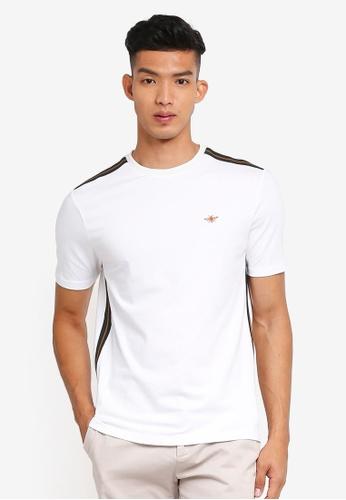 River Island 白色 短袖T恤 7322EAA2699EBFGS_1