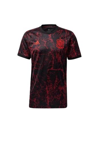 ADIDAS black adidas Spain Pre-Match Jersey A3981AABDC779BGS_1