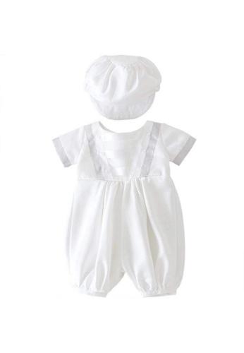 RAISING LITTLE white Delo Baptism Set C5219KA1E1DA92GS_1