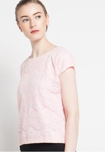 bhatara batik pink Kimberly Lace BH237AA88ZQTID_1