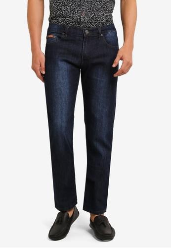 Fidelio blue 565 Slim Straight Jeans FI826AA0RLWZMY_1
