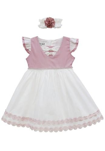 FIYORA multi Lyra Cotton Baby Girl Dress EBD2CKA26F1BF2GS_1