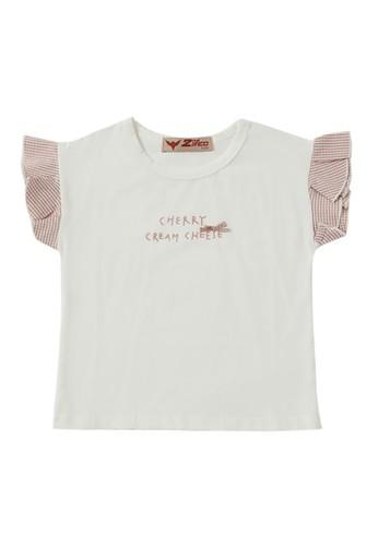 2nd Red Kids beige T-Shirts Cherry DE24DKAF859E0DGS_1