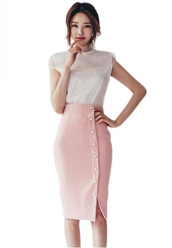 Sunnydaysweety multi 2017 S/S Sweet Style Two-Piece Suit UA050514 SU219AA87DXWSG_1