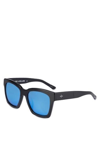 BLANC & ECLARE black New York Sunglasses F62C0GL8036AD7GS_1