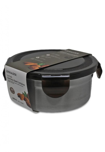 LocknLock n/a Stainless Airtight Food Container 460ml D3BB2HL24CE4C6GS_1