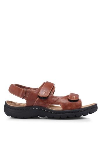 Bata 金色 Strappy Sandals 8077CSHFD83ACBGS_1