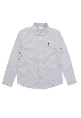 Giordano grey Junior Long Sleeve Classic Shirt 4C9A4KAE72FDC2GS_1