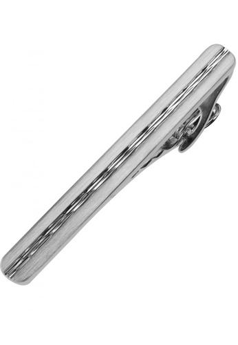 CUFF IT silver 60mm Chevron Long Tie Clips CU047AC61GKKHK_1