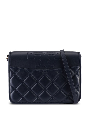 TORY BURCH navy Savannah Combo Crossbody Bag (NT) 98EDDAC3FE1623GS_1