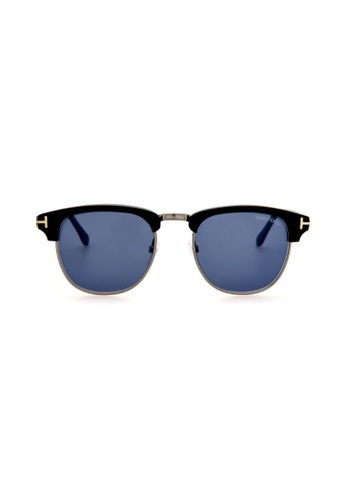 Tom Ford black and blue TOM FORD FT0248 02X Sunglasses CE761GLDDB6A53GS_1