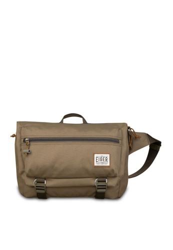Eiger brown 1989 X Tarmac Shoulder Cross Bag 924C1AC2DCD987GS_1