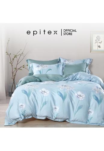 Epitex Epitex TP1143 Tencel 1000TC Printed Bedsheet - Bedset - Bedding Set (w quilt cover) E602CHLF96D548GS_1
