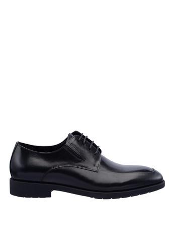 Hush Puppies black Hush Puppies Men's Fontana Lace Up Dress Shoe - Black A3DF0SHF1D0DBFGS_1