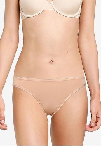 GAP beige Stretch Cotton Bikini Panties 4B77CUSB5D415DGS_1