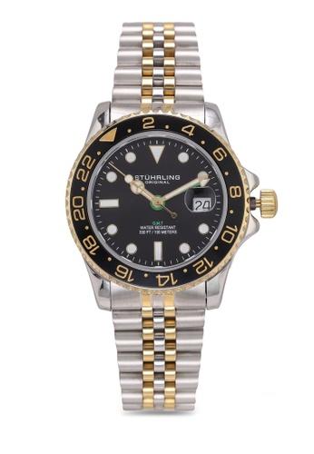 Stuhrling Original silver Meridian 3968 Watch 8CE89ACE775CC9GS_1