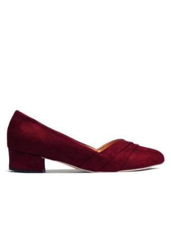 KASOOT purple Kasoot Plus Size Heels Maroon 3FD4ESH713396EGS_1