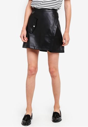 ESPRIT black Woven Mini Skirt 9EB0DAAF4A19DFGS_1
