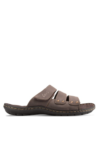 Louis Cuppers brown Casual Sandals LO977SH42BANMY_1