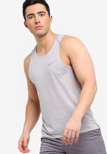82f26dd9 Buy Nike As Men's Nike Breathe Rise 365 Tank Top Online on ZALORA ...