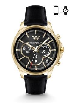 0ebf8d7263ee Emporio Armani black Armani Alberto Black Smart Watch ART5004  AR024AC0S03OMY 1
