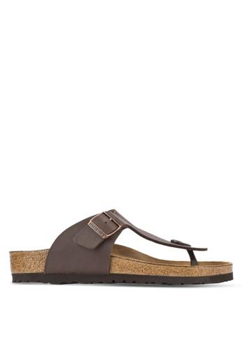 Birkenstock brown Ramses Sandals BI090SH68HNBMY_1