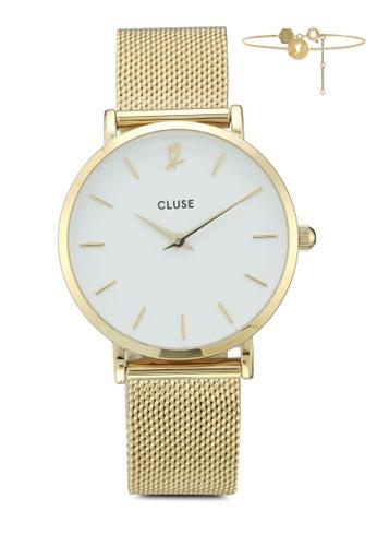 CLUSE 金色 CLUSE Minuit Heart 手錶禮物組 94D8AACCA651B3GS_1