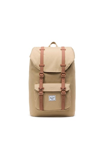 165ce7c493e Herschel brown Herschel Little America Backpack Kelp  Saddle Brown - 25L  E3F4EACF36FA5FGS 1
