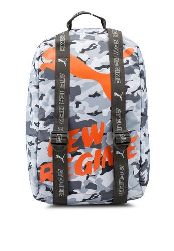 a2812aa2cb Puma Select grey Puma x ANR Backpack 49F0BACEF098D3GS 1