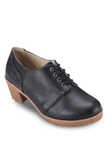 繫帶粗跟踝靴,尖沙咀 esprit 女鞋, 鞋