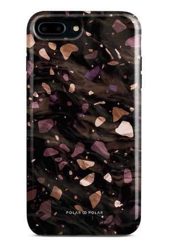 Polar Polar brown Eminence Terrazzo Gem Dual-Layer Tough Case Glossy For iPhone 8 Plus/7 Plus 861EBACE9EF69BGS_1