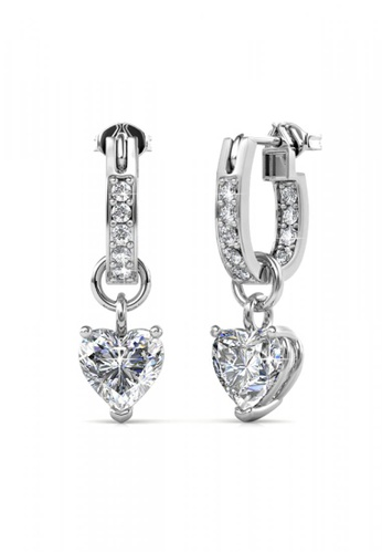 Her Jewellery silver Her Jewellery Missy Love Earrings with 18K Gold Plated FBD82ACA8AC674GS_1