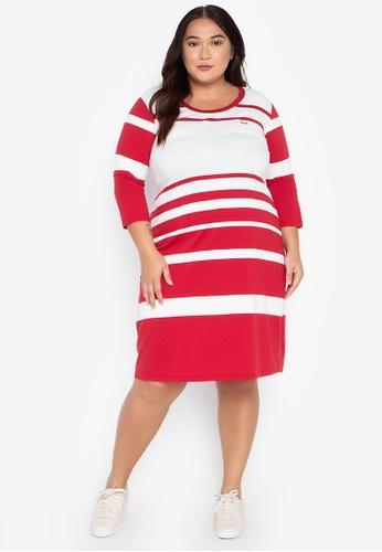 Roundneck Plus Size Dress