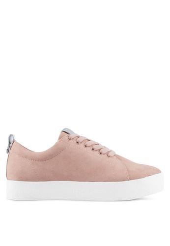 ONLY white Selma Lace Up Sneakers 0BC0BSH1203ADEGS_1
