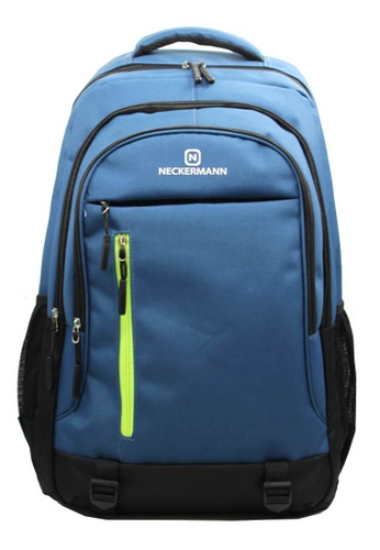Neckermann black and yellow and blue and multi and  Neckermann Backpack Series 0127 FE649AC385610DGS_1