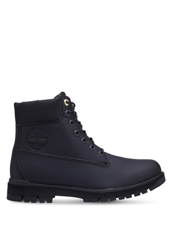 Timberland black Radford Rubberized 6 inch Waterproof Boots E091BSH9324445GS_1