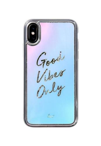 LAUT multi Good Vibes Liquid Glitter Phone Case - iPhone X/XS 03EB6AC38BAB19GS_1