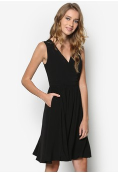 Collection Cross Front Dress