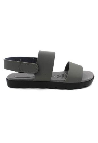 midzone grey MIDZONE Lady Comfortable Sandals MI949SH0SKXOMY_1