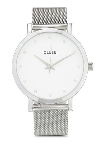 CLUSE silver Pavane Silver Stones 944B3ACAB36B12GS_1
