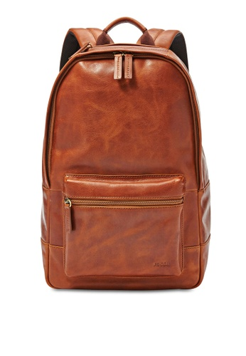 Fossil brown Fossil Backpack MBG9242222 FO313AC47IKISG_1