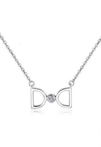 Vivere Rosse silver Infinite Love Necklace VI014AC37TVUMY_1