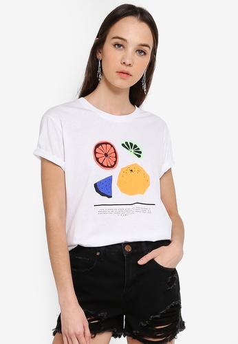 Cotton On white Tbar Fox Graphic T shirt 0E5F6AA8049C24GS_1