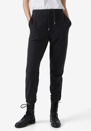 KOTON grey Drawstrings Sweatpants 1C202AAEDDBCFCGS_1