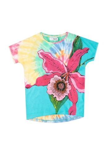 Desigual multi Side Vent T-Shirt C1B18KAC72B5A4GS_1