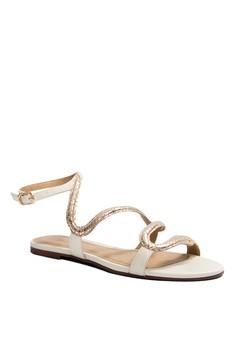 Anacapri Irs Strappy Flat Sandals