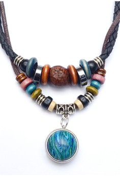 Pre-styled Retro Leather Necklace